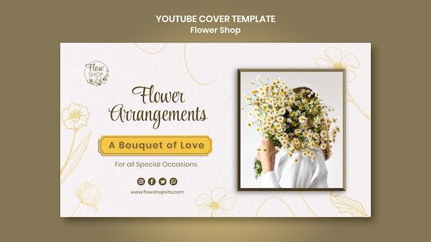 Kompozycje kwiatowe okładka youtube