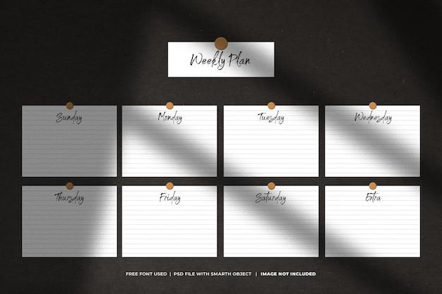 Koncepcja planowania i termin z karteczką samoprzylepną