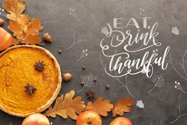 Koncepcja święto dziękczynienia