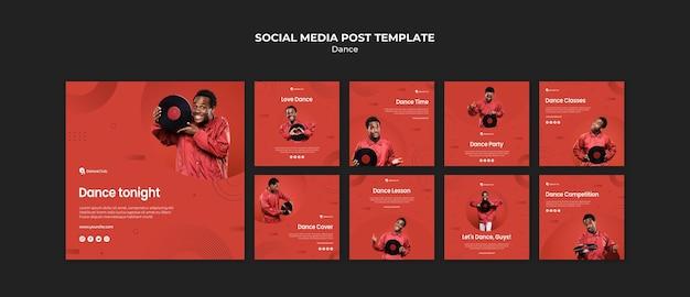 Koncepcja tańca w mediach społecznościowych