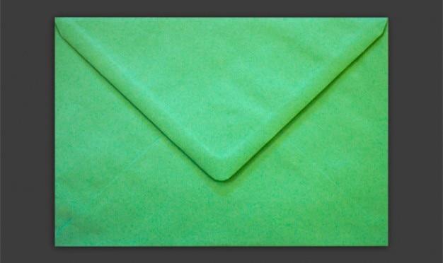 Koperta psd zielony