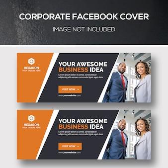Korporacyjna okładka na facebooku