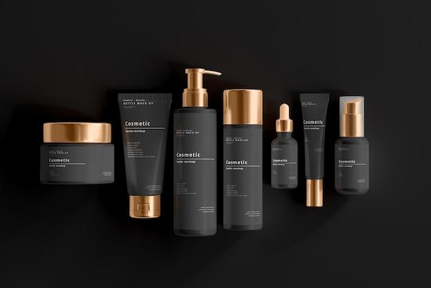 Kosmetyczna scena makiety marki