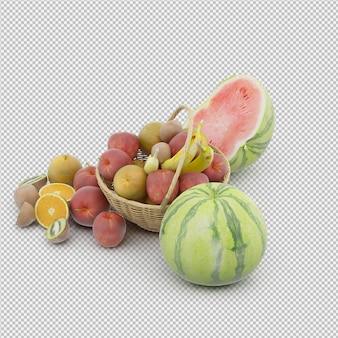 Kosz z owocami