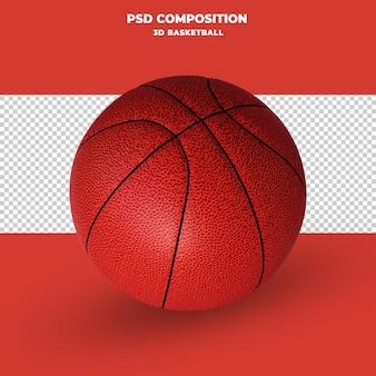 Koszykówka renderowania 3d