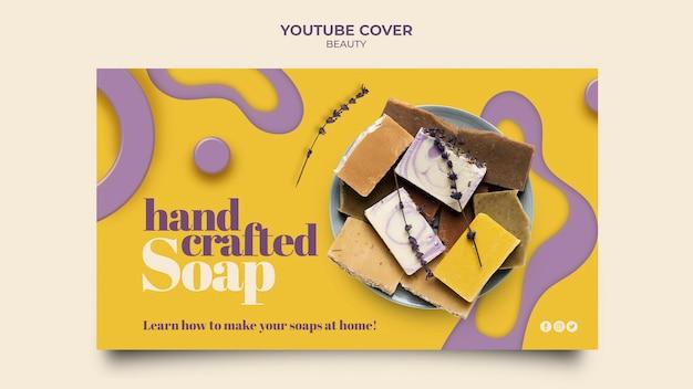 Kreatywne ręcznie robione mydło na youtube