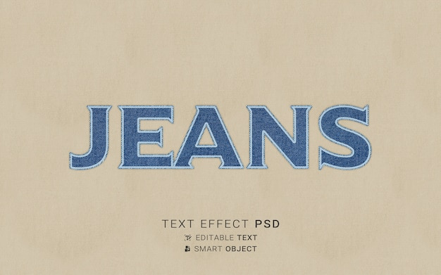 Kreatywny efekt tekstu haftu