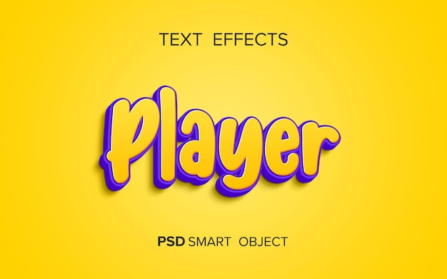Kreatywny pogrubiony efekt tekstowy