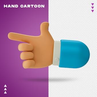Kreskówka ręka