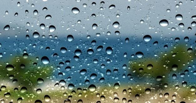 Krople wody teksturę tła