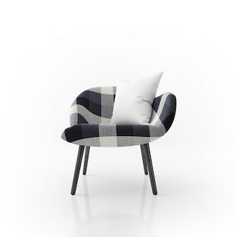 Krzesło i poduszka
