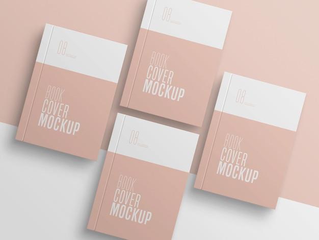 Książka cover multiple mockup
