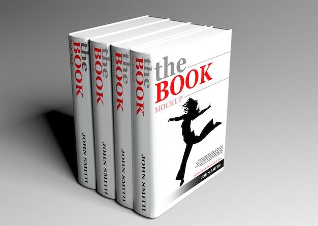 Książka w twardej oprawie makieta