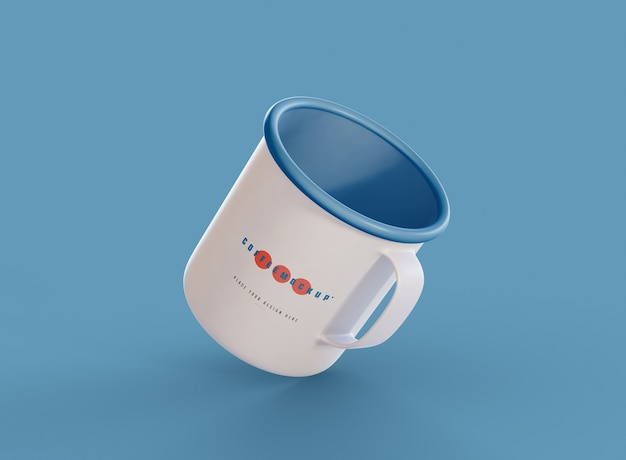Kubek kawy makieta