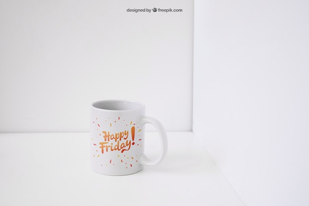 Kubek kawy mockup