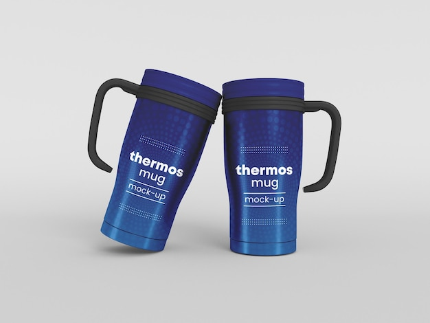 Kubek termiczny makieta