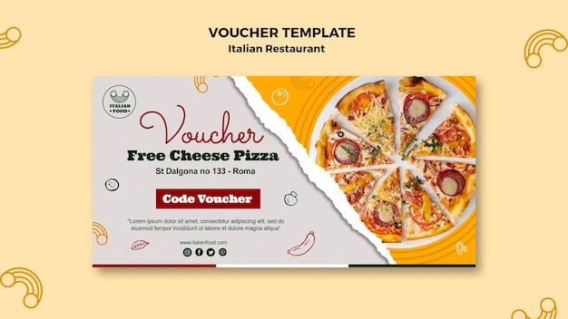 Kupon do włoskiej restauracji z pizzą