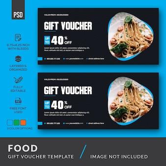Kupon podarunkowy na żywność