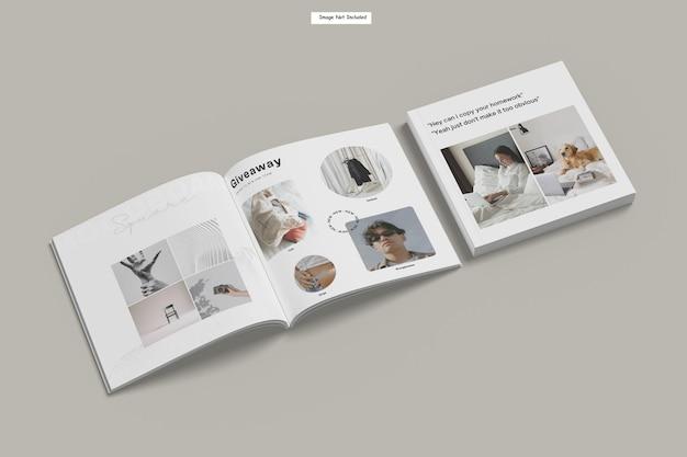 Kwadratowa makieta magazynu