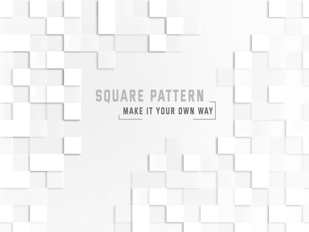 Kwadratowy tło wzór