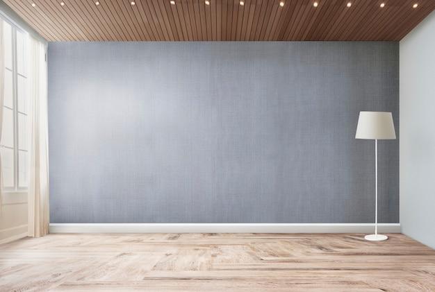 Lampa stojąca w salonie