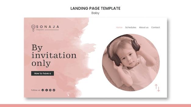 Landing page dla przedszkola dla dzieci