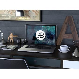 Laptop makiety