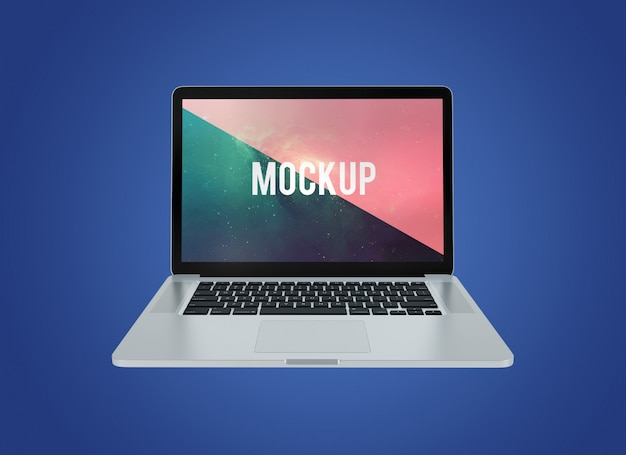 Laptop projekt makieta