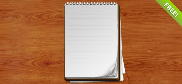 Layered spiralne notebook