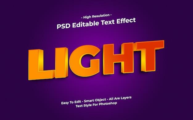 Lekki efekt tekstu