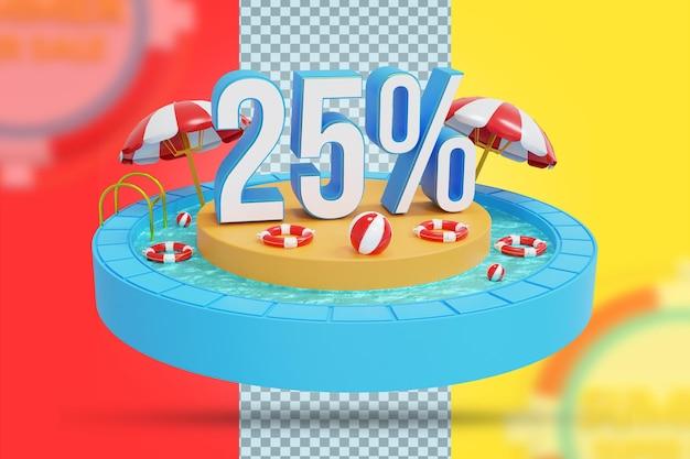 Letnia oferta 25% zniżki na renderowanie 3d