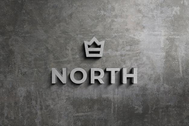 Logo 3d i makieta znaku