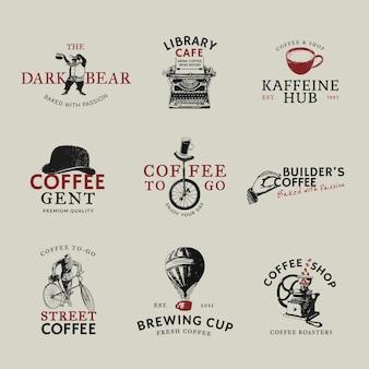 Logo hotelu psd biznes zestaw tożsamości korporacyjnej