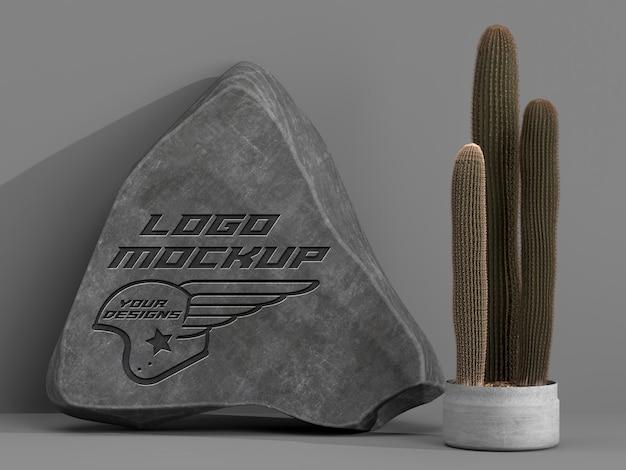 Logo mockup identyfikacja wizualna