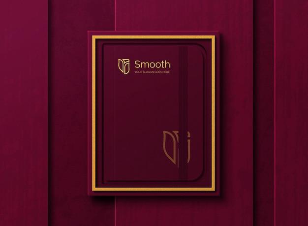 Luksusowa makieta pamiętnika w pudełku