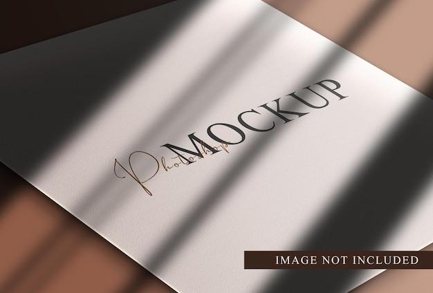 Luksusowa makieta z pustą księgą