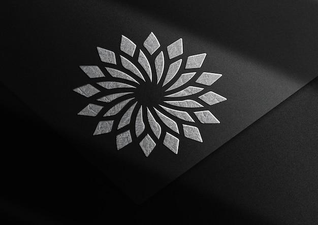 Luksusowa makieta z wytłoczonym papierem z lotosu