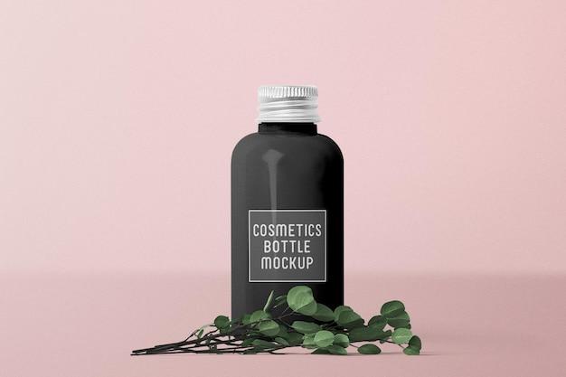 Luksusowe czarne opakowanie kosmetyczne na butelki