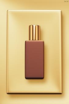 Luksusowy produkt na złotej ramie