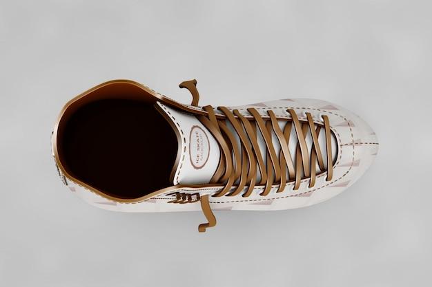 Łyżwiarstwo buty mockup