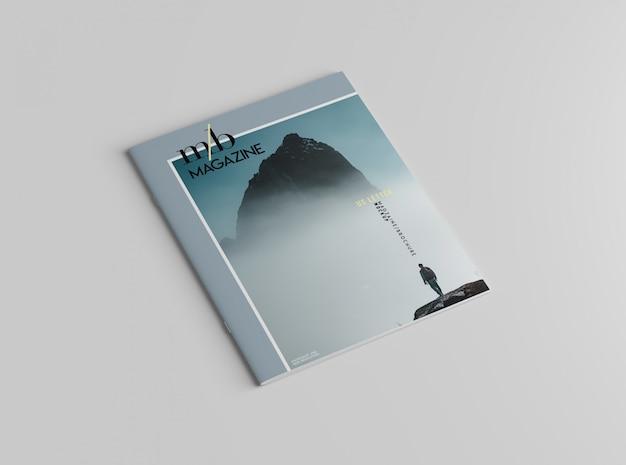 Magazyn listu amerykańskiego lub makieta broszury