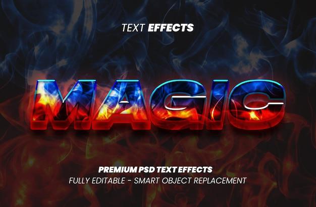 Magiczny efekt tekstowy