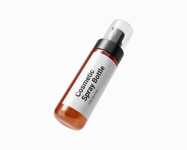 Makieta 100 ml kosmetycznej butelki z rozpylaczem