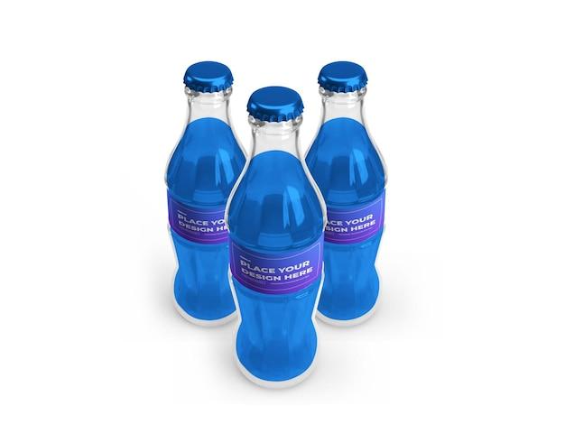 Makieta 3d butelki bezalkoholowej