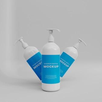 Makieta 3d butelki z rozpylaczem
