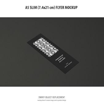 Makieta a5 slim flyer