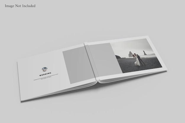 Makieta albumu z książką krajobrazową