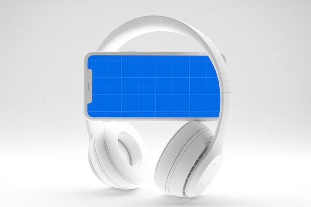 Makieta aplikacji clean music music