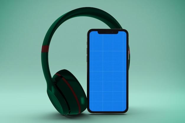 Makieta aplikacji mobilnej muzyki