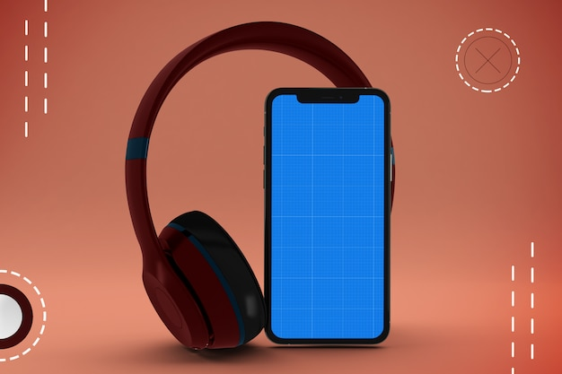 Makieta aplikacji mobilnej streszczenie